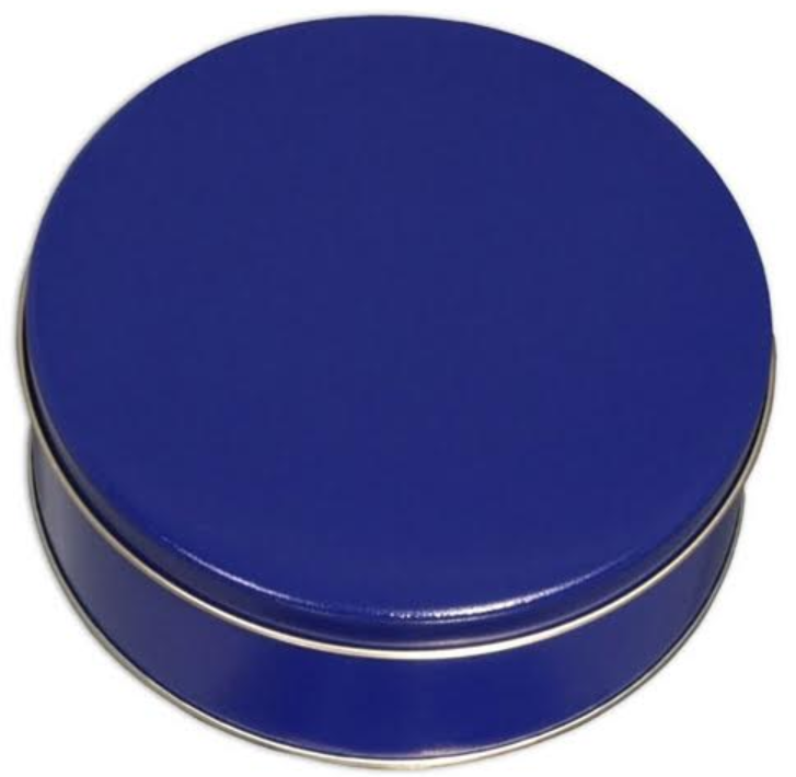 Blue Solid Tins